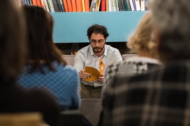 Ferdinando de Blasio ospite di Libri a Km_Zero al Circolo dei Lettori